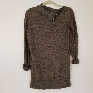 GAP Sweaters - GAP button collar tunic sweater